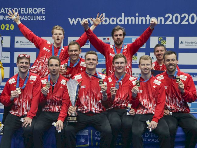 DOUBLE CROWNS FOR DENMARK IN EUROPEAN TEAM CHAMPIONSHIPS