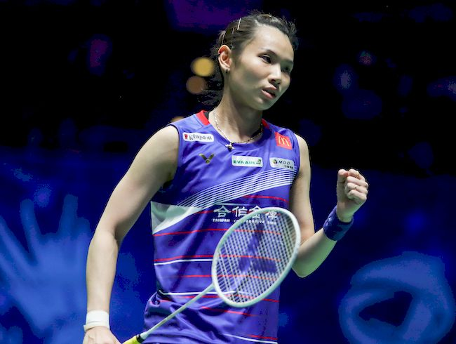 TAI RECLAIMED ALL ENGLAND TITLE AND WORLD NO.1