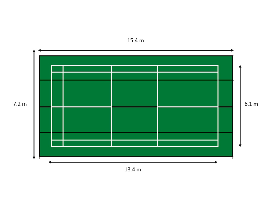 Mobile Plastic Court C-7051